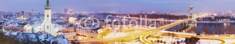 75347834 – Slovakia – Panoramic view of Bratislava