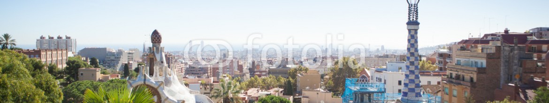 75599204 – Ukraine – Park Guell in Barcelona, Spain.