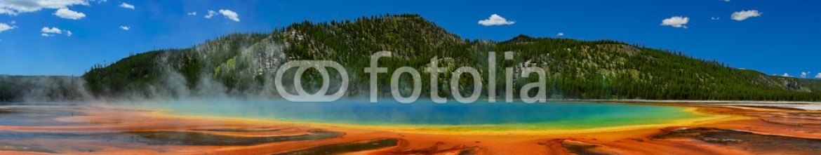75737940 – United States of America – Grand Prismatic Spring in Yellowstone National Park