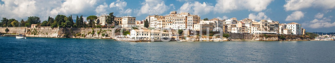 75794224 – Serbia – Corfu town.Panoramic view.