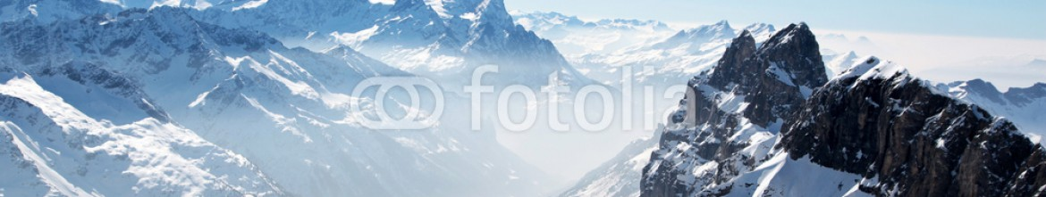 76020609 – Finland – Panoramic view of the Swiss mountains (Titlis)