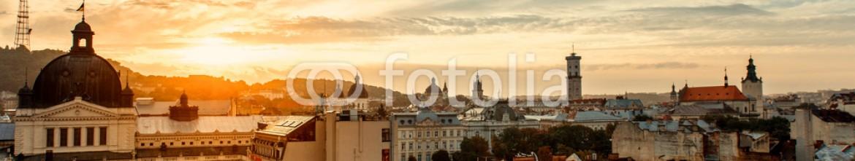 76218229 – Ukraine – Lviv city sunrise