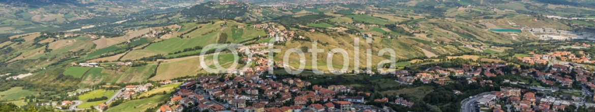 76274738 – Russian Federation – view of Republic San Marino