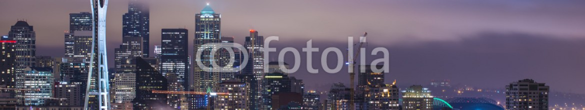 76346711 – United States of America – Seattle at Night