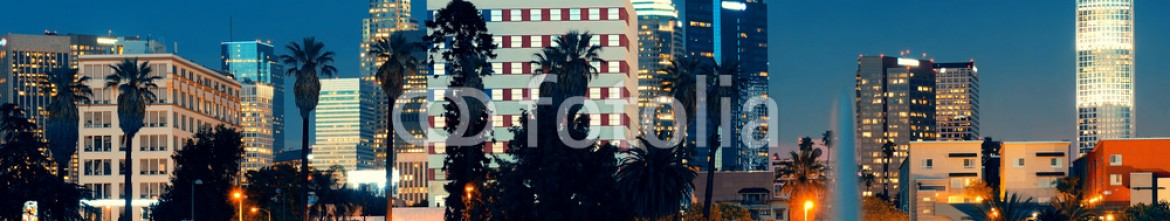76550597 – United States of America – Los Angeles at night