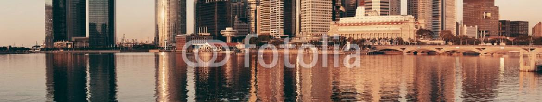 76554351 – United States of America – Singapore skyline