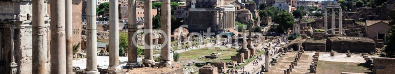 76896251 – Russian Federation – ancient ruins of roman forum in Rome, Lazio, Italy