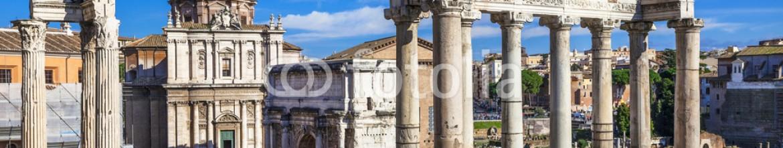 76936576 – Ukraine – Ancient Ruins of Rome – Imperial Forum – Italy