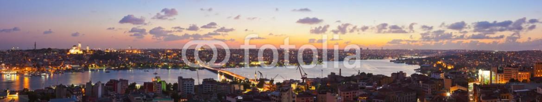 77100871 – Russian Federation – Istanbul sunset panorama