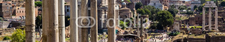 77165647 – Russian Federation – ancient ruins of roman forum in Rome, Lazio, Italy