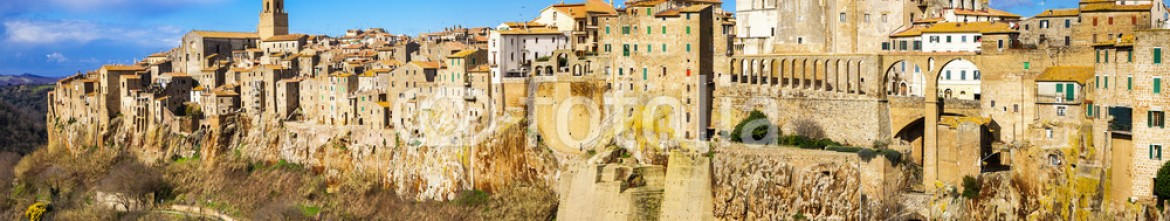 77604621 – Ukraine – amazing Italy series – panorama of Pitigliano, Tuscany