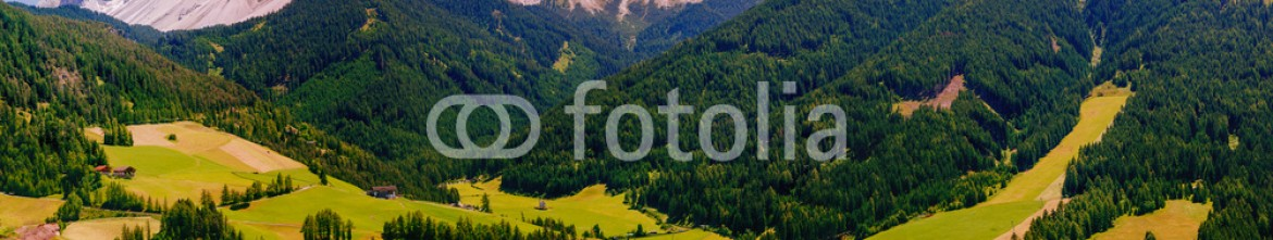 78006538 – Ukraine –  Panoramic view of idyllic summer landscape in the Alps