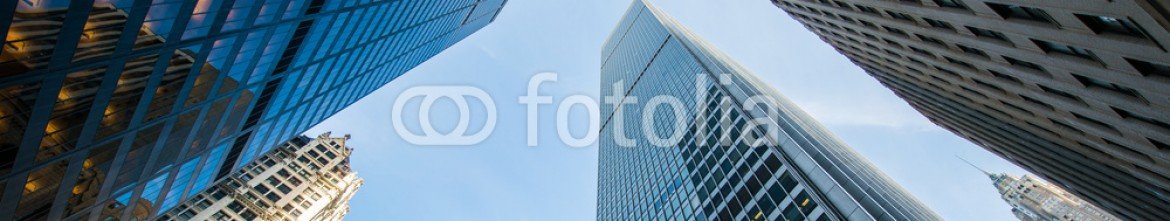78557272 – Azerbaijan – Tall skyscrapers shot with perspective