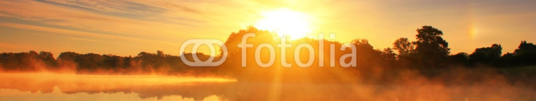 78590949 – Ukraine – Reflection of the dawn sky