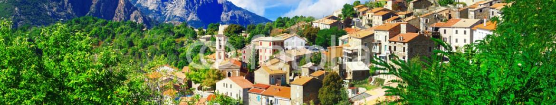 78607187 – Ukraine – Evisa – beautiful mountain village in Corsica