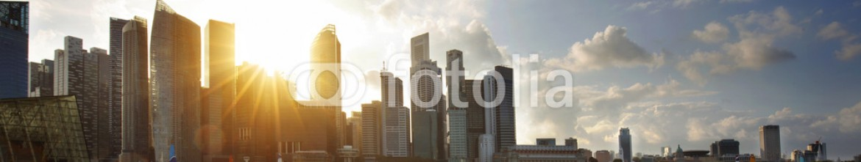 78645614 – Italy – CBD of Singapore at sunset