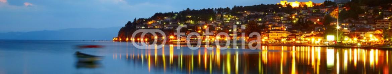 78664010 – Ukraine – Ohrid lake after sunset