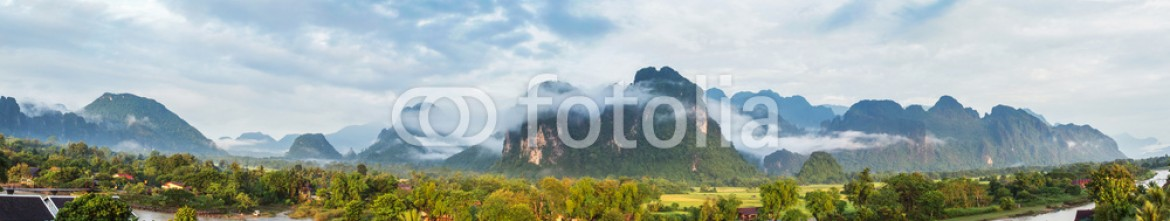 78682112 – Thailand – View for panorama in Vang Vieng, Laos.