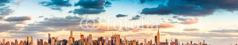78798375 – United States of America – New York City panorama