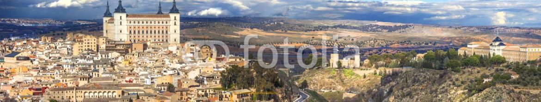 79030473 – Ukraine – beautiful panorama of Toledo, Spain