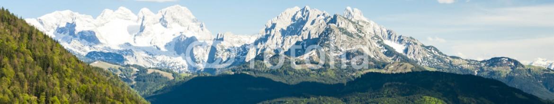 79075969 – Czech Republic – view to Dachstein from the west, Upper Austria-Styria, Austria