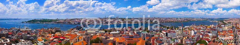 79260722 – Russian Federation – Istanbul Turkey panorama