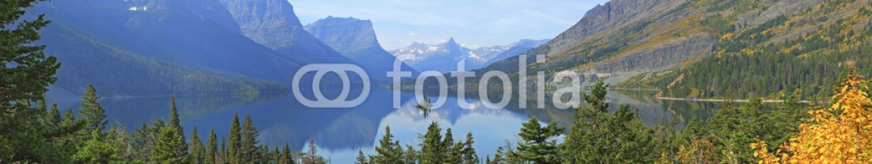 79327308 – United States of America – Wild Goose Island, Glacier National Park
