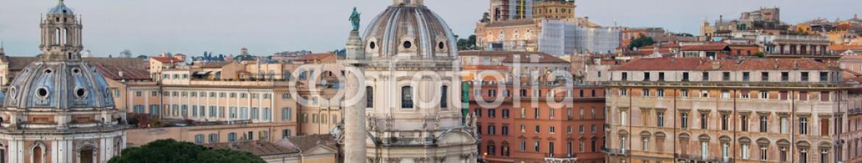 79342066 – Italy – Rome skyline panorama