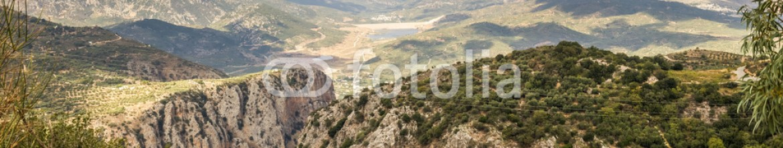 79435714 – Ukraine – Selakano valley surrounded by Dikti mountains, Crete, Greece