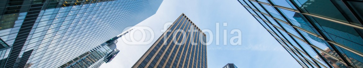 79595681 – Azerbaijan – Tall skyscrapers shot with perspective