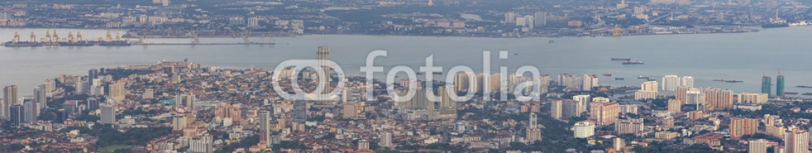 79603541 – United States of America – George Town Penang Malaysia Aerial View