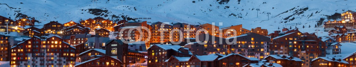 79867201 – France – Val Thorens by night
