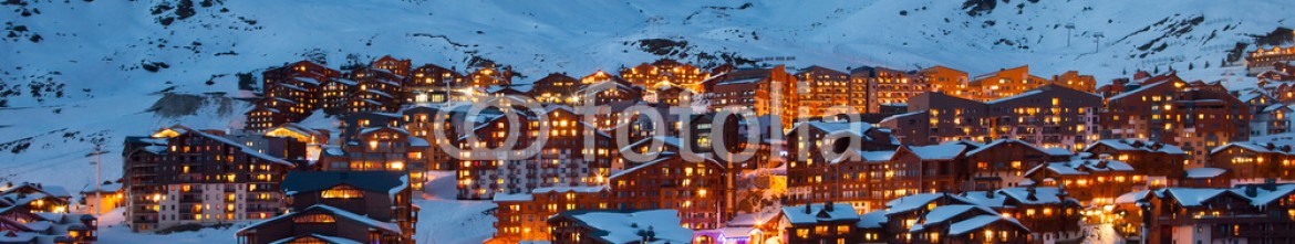 79867978 – France – Val Thorens by night