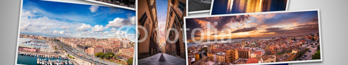 80031059 – Italy – Collage best photos from Cagliari