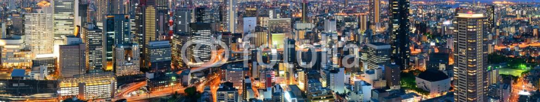 80226510 – United States of America – Osaka night rooftop view