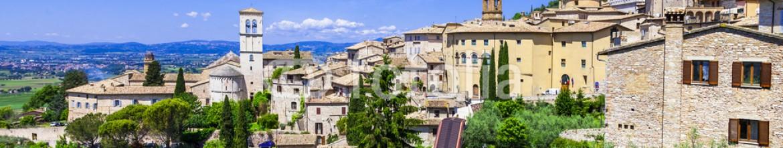 80267206 – Ukraine – Assisi – medieval historic town in Umbria, Italy