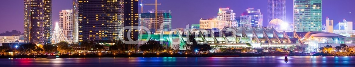 80370700 – United States of America – Colorful Night in San Diego