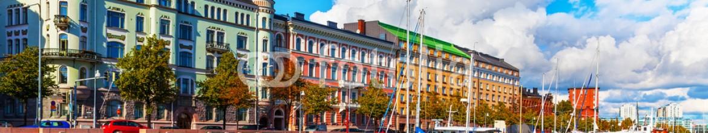 80551294 – Finland – Old Town pier in Helsinki, Finland