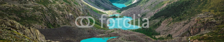 80597360 – Russian Federation – Beautiful turquoise lakes