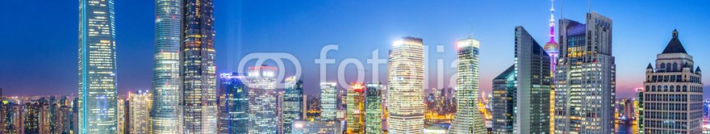 80981356 – China – skyline,skyscrapers in modern city night
