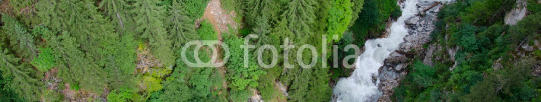 81214696 – Switzerland – View from cableway near Trift bridge, Triflt, Switzerland.