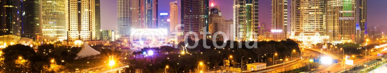 81224442 – China – skyline and illuminated cityscape of shanghai at night
