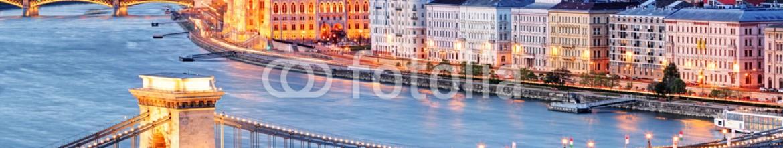 81906006 – Slovakia – Budapest with chain bridge and parliament, Hungary