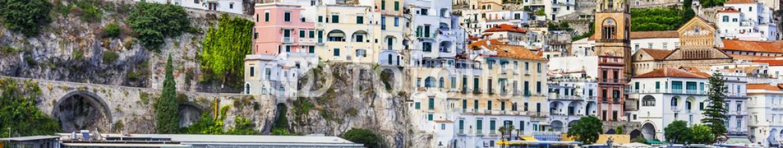 82817995 – Ukraine – Italian holidays, view of pictorial Amalfi