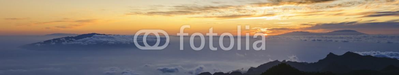 83268120 – Spain – Amazing sunset at the peak of volcano Teide, Tenerife.