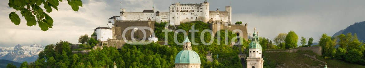 83290824 – Austria – Beautiful view of Salzburg with fortress Hohensalzburg