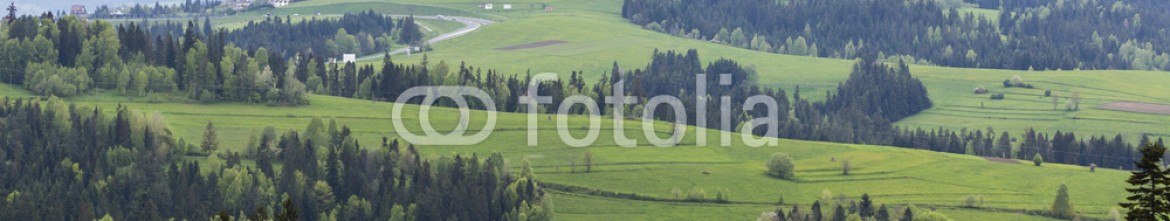 83317229 – Poland – Beautiful view of Beskidy mountains, Poland