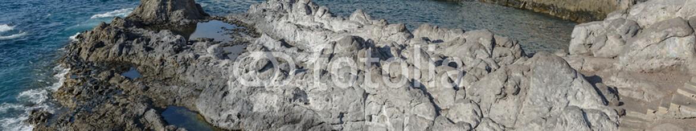 83594110 – Spain – Coast view towards Puerto de Santiago, Tenerife, Canary Islands,