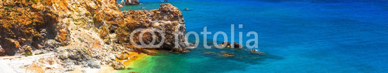 83991832 – Ukraine – impressive landsacpes of Greece – Thiorichia beach on Milos