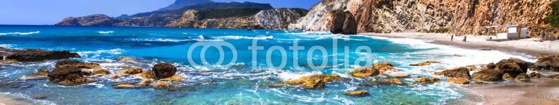 83992599 – Ukraine – beautiful scenic beaches of Greek islands – Fyriplaka on Milos